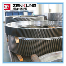 qualified forged steel gear helical gear of China