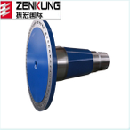 Cusotmized forged wind turbine shaft wind generator part of China